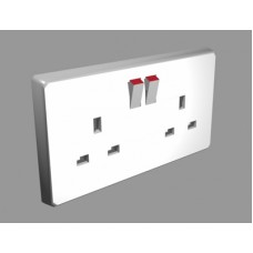 Voice Activated recording Double Mains Socket