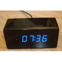 ALARM CLOCK CAMERA WITH VIDEO RECORDER