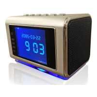 Motion Activated SPY CAMERA CLOCK with automatic IR Light