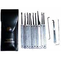 15 Piece Lock Pick Set