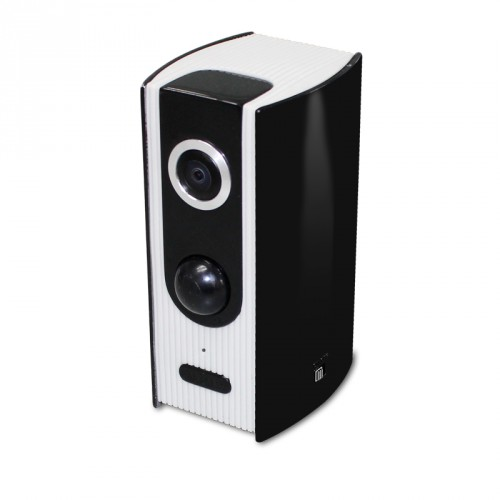wifi camera with 60 days battery built into mini speaker. Black Bedroom Furniture Sets. Home Design Ideas
