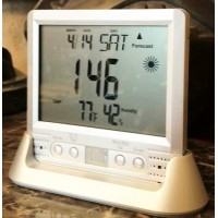 Clock / Thermometer Covert Video